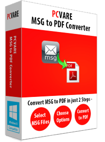 PCVARE MSG to PDF Converter