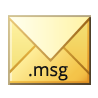 Option to convert MBOX files into MSG