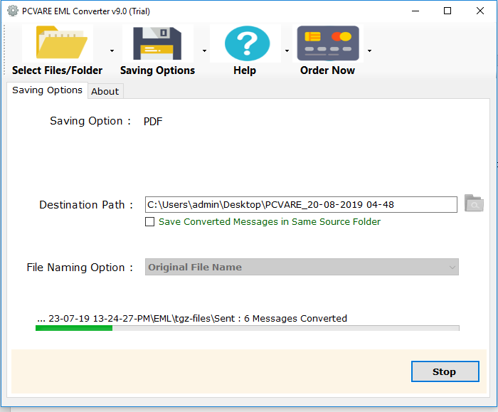 EML Converter for EML File Conversion to O365, Gmail, G