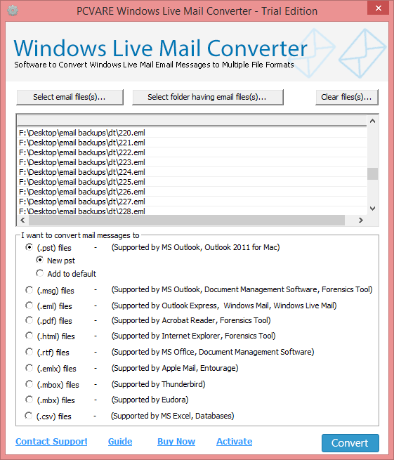0119;indows Live Mail Converter 7.6.1