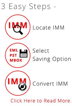 How to Convert IMM IncrediMail files