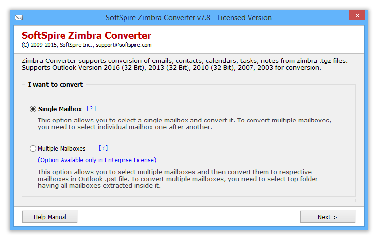 Zimbra Mail to Outlook suitable for Large-scale Zimbra Mail Migration